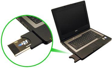ExpressCard to PCMCIA/CardBus/PC Card 16 Bit Adapter